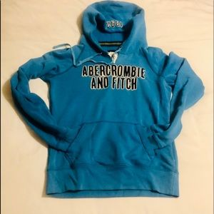 Vintage Blue Abercrombie and Fitch sweater